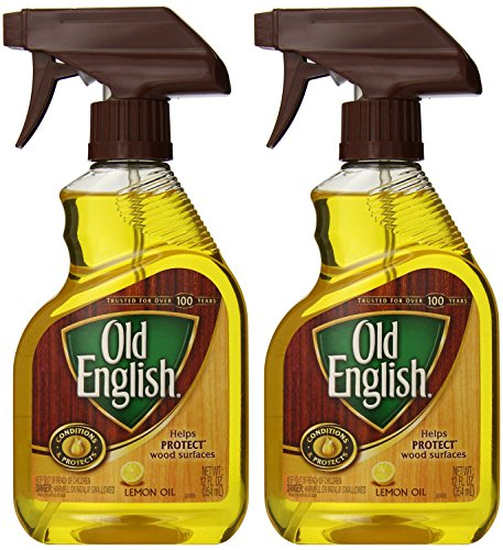 Old English, Lemon Oil, Trigger Sprayer, 12 Ounce (Pack of 2)