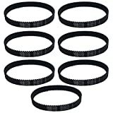 Think Crucial 7 Replacement for Dyson DC17 10-MM Geared Belts, Compatible With Part # 911710-01 & 91171001