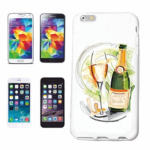 """cas de téléphone iPhone 7+ Plus """"VIN ROUGE BOUTEILLE Vin Blanc VIN VERRE VINTAGE YEAR ANNIVERSARY CHAMPAGNE BEER VODKA BRANDY ALCOOL VIN Vin blanc LIQUEUR"""" Hard Case Cover Téléphone Covers Smart Cover"""