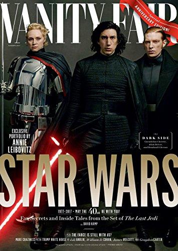- Vanity Fair Magazine (Summer, 2017) Star Wars: The Last Jedi The Dark Side General Hux (Domhnall Gleeson), Captain Phasma (Gwendoline Christie), Kylo Ren (Adam Driver)