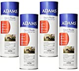 (4 Pack) Adams 12-Ounce Flea and Tick Carpet Powder
