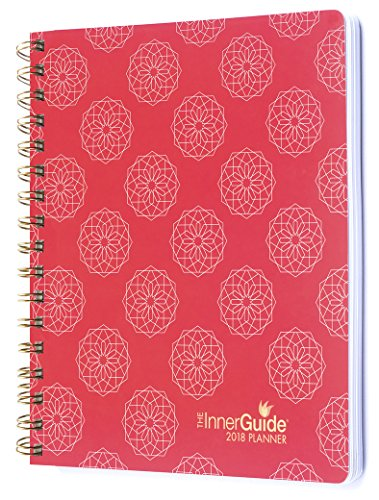 InnerGuide 2018 Goal & Life Planner - Increase Mindfulness, Productivity & Happiness. Weekly & Monthly Organizer, Appointment Book & Journal, Jan - Dec (Dated Soft Cover)