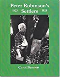 Peter Robinson's settlers