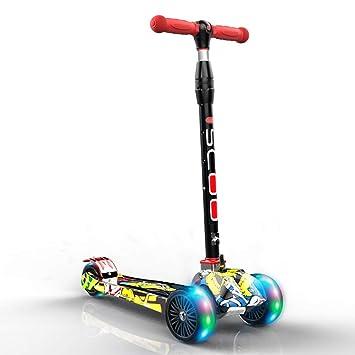 Patinetes de tres ruedas Scooter para niños de 3 Ruedas con ...