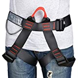 MokenEye Climbing Harness Professional Thicken Climbing Gear, Safe Seat Belts for Mountaineering Fire Rescuing Rock Climbing Rappelling Tree Climbing