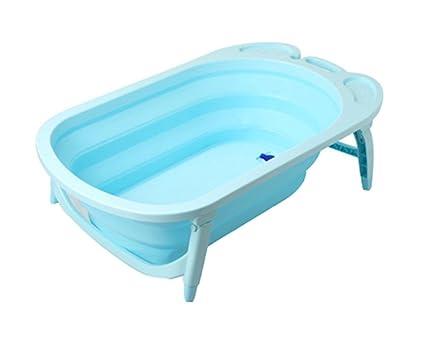 Vasca Da Bagno Plastica : Qrfdian vasca da bagno pieghevole vasca da bagno per adulti in