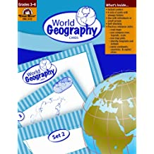 World Geography Cards, Grades 3-6