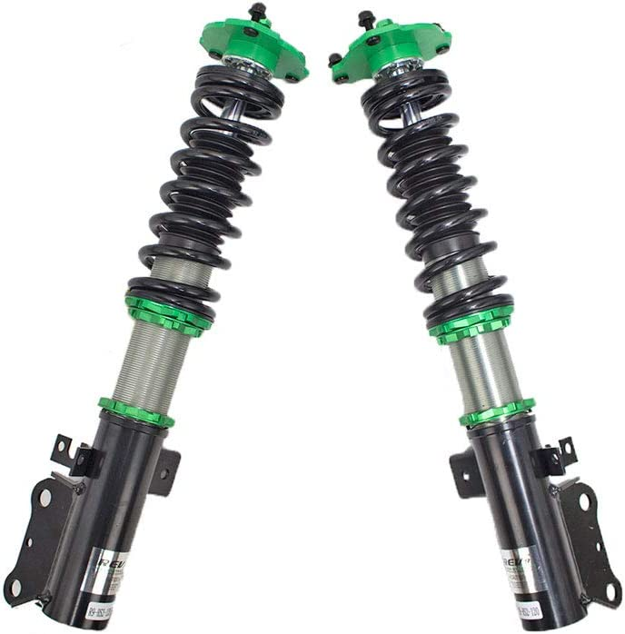 1994-99 Mono-Tube Shock w// 32 Click Rebound Setting Rev9 R9-HS2-120 Hyper-Street II Coilover Suspension Lowering Kit T200 compatible with Toyota Celica FWD Full Length Adjustable