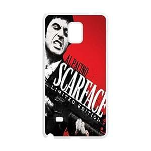 Samsung Galaxy S4 Phone Case White Al Pacino Scarface ZBC358739