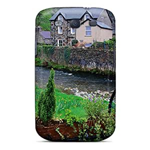 Hot New River Through A Village Case Cover For Galaxy S3 With Perfect Design