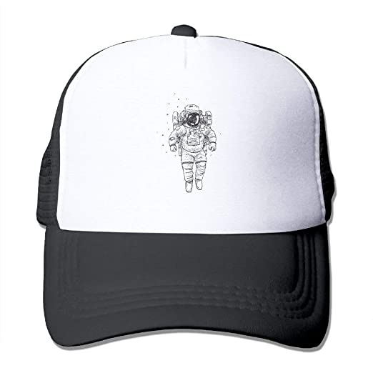 54d7a6cbbeb Image Unavailable. Image not available for. Color  Fitted Astronaut  Comfortable Mesh Baseball Caps Running Ball Custom Hat