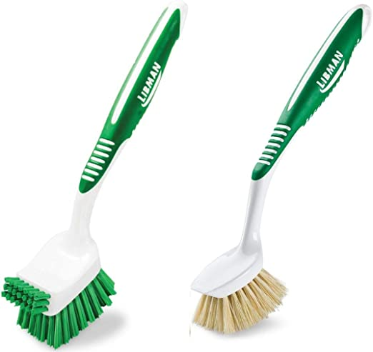 12 Pk Libman Plastic Vegetable Cleaning Scrubbing Washing Brush 36