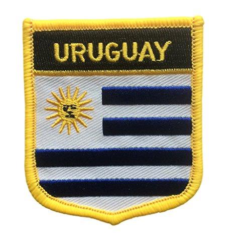 Uruguay - Shield Patch (Uruguay Crest, 2.75