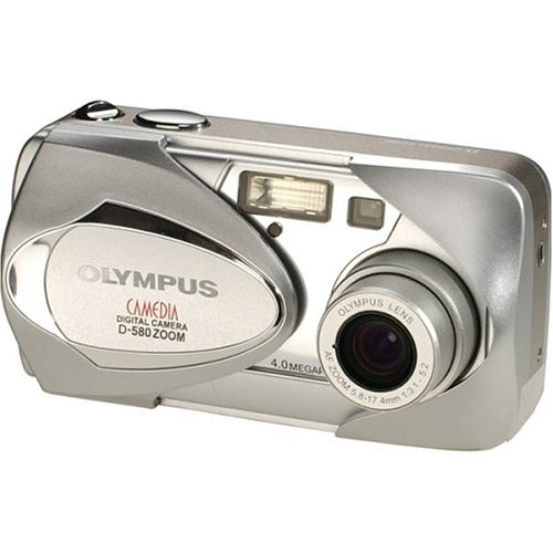 amazoncom olympus d 580 4mp digital camera with 3x optical zoom point and shoot digital cameras camera photo - Olympus Digital Camera