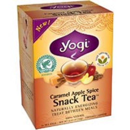 Caramel Apple Spice Snack Tea 16 Bags (2 Pack)
