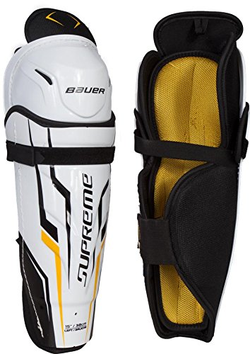 Youth Ice Hockey Shin Guards (Bauer Youth Supreme 150 Shin Guard, 10