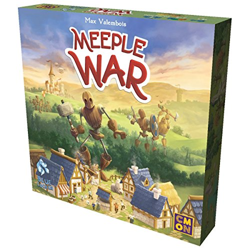 CMON Meeple War Strategy Board Game