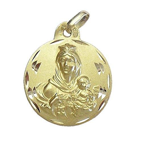 Médaille pendentif Scapulaire or [97]