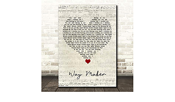 All The Way Script Heart Song Lyric Quote Music Print