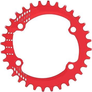 SolUptanisu Plato de Bicicleta de Montaña,BCD 32T 34T 36T 38T ...