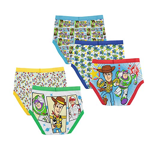 Disney Boys' Big Toy Story Brief Multipack, ToyMovie 5pack, 8