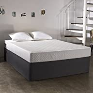 Sleep Innovations Sage 8-inch Gel Memory Foam Mattress, King