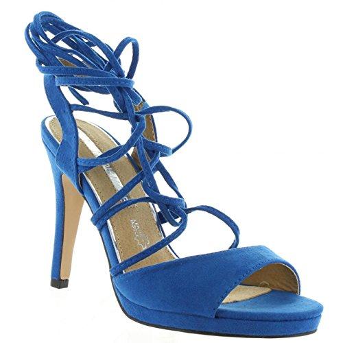 Sandalias de Mujer MARIA MARE 66329 C25662 SUEDI AZUL