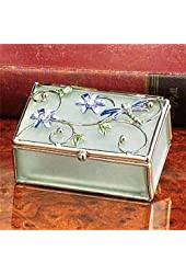 StealStreet SS-A-38088 Floral Dragonfly Decoration Jewelry Box