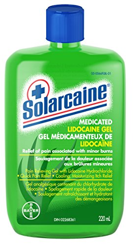 Sun Protection & Tanning Solarcaine Cool Aloe Burn Relief Formula Pain Relieving Gel With Lidocaine Hci Regular Tea Drinking Improves Your Health