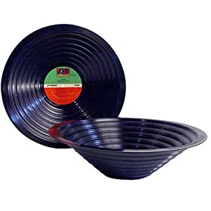 Recycled Vinyl LP Record Bowl - Crooners Genre
