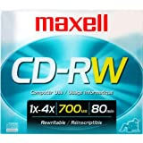 4x Rewritable CD-RW For Data - Single-781012