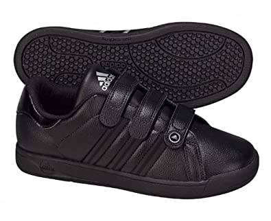 new concept a71d0 8b2fd adidas Class 11 Boys Trainers (Junior) 4 Black: Amazon.co.uk ...