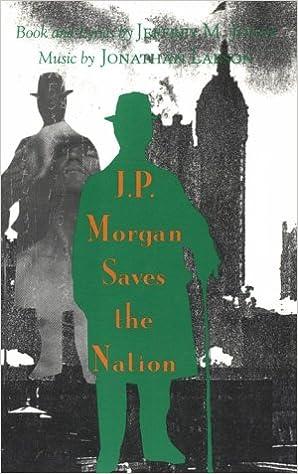 J P Morgan Saves the Nation (Sun & Moon Classics): Jeffrey M  Jones