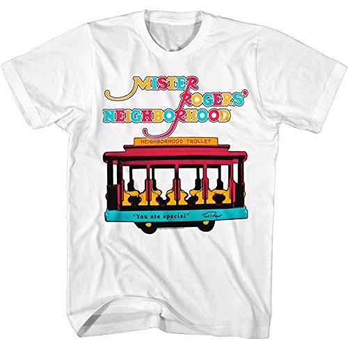 Man Tv Trolly White YouPrix Mr Kids For Rogers Special Pbs Camiseta 2bhip wq1710v