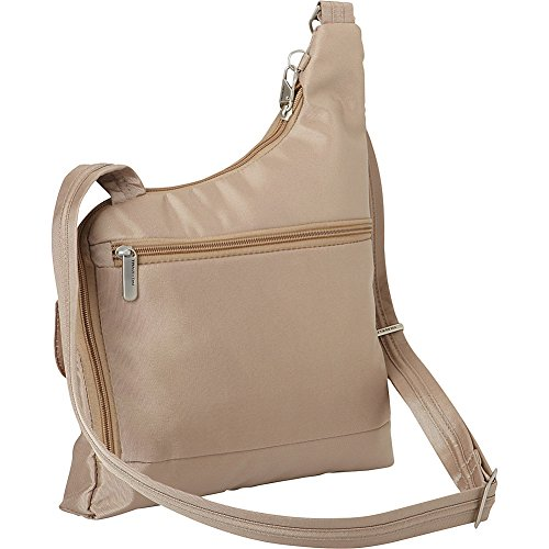Body Pocket Cross Anti Travelon Theft Two Bag Black Plum txvpw70qw