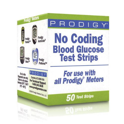 OP72500BX - Prodigy No Coding Test Strip (50 Count) product image