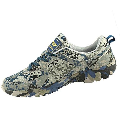 Señoras / Mens Zapatillas de deporte de camuflaje verano y otoño Zapatos de deportes al aire libre para Senderismo Camping Escalada Montañismo