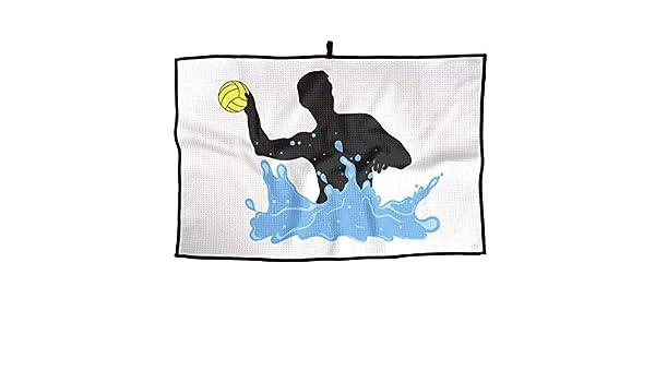 Amazon.com: SHARP-Q Play Water Polo Premium Golf Towel ...