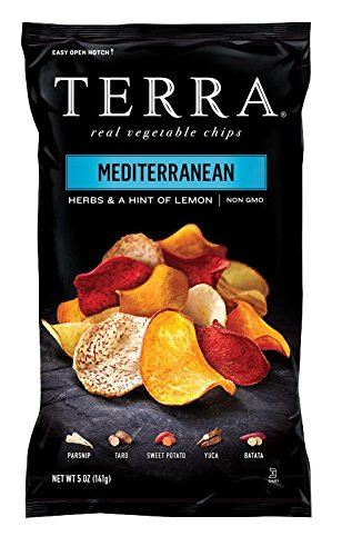 Terra Chips Exotic Vegetable Medley, Mediterranean, 5 ()