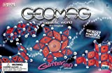 : Geomag Glitter Rods and Panels 180, Blue/Red