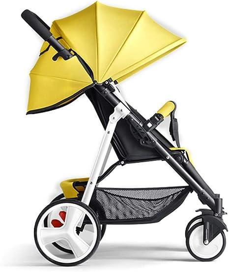 Opinión sobre MAGO Plegable Silla de paseo desde el nacimiento hasta 25 kg, de peso ligero con la mentira Posición (Color : 3)