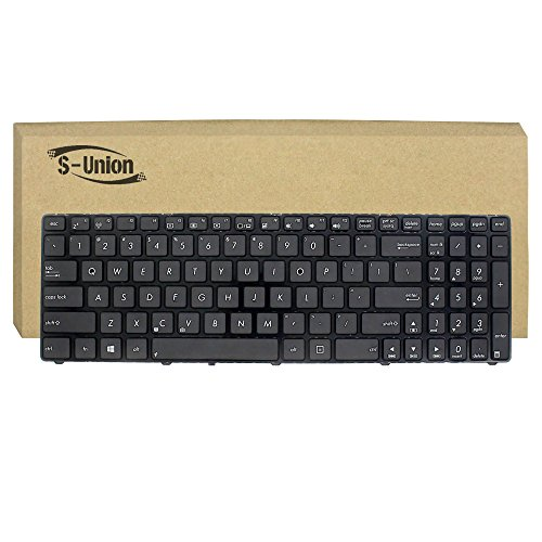 S-Union New Black US Layout Laptop Replacement Keyboard f...