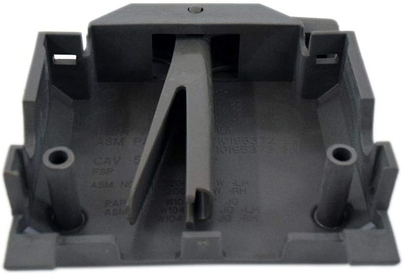 Whirlpool W10588164 Dishwasher Dishrack Adjuster Housing, Left Genuine Original Equipment Manufacturer (OEM) Part