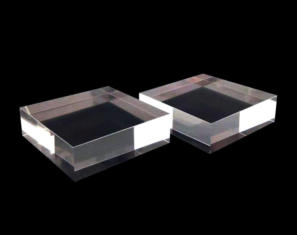 10cmx10cm Premium Grade Acrylic Display Squares Set