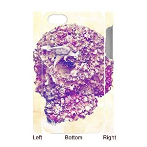 ALICASE Diy 3D Protection Hard Case Skull For Iphone 5C [Pattern-1]