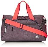 adidas Women's Fearless Club Bag, Heather Grey Static/Flash Red/Light Flash Yellow, 12.5 x 21.5 x 8-Inch