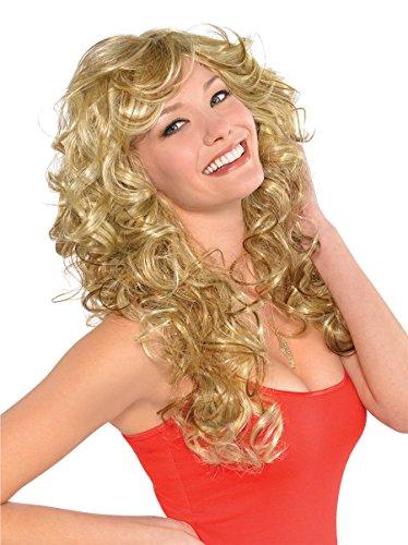 Amscan 844158 70s Bombshell Wig, Standard, -
