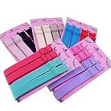 Apparel : 15mm Wide Band Fashion Stylish Bra Straps, Women's Accessories 10 Color Set