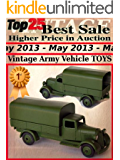 Top25 Best Sale Higher Price in Auction - May 2013 - Vintage Army Vehicle Toys