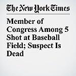 Member of Congress Among 5 Shot at Baseball Field; Suspect Is Dead | Michael D. Shear,Adam Goldman,Emily Cochrane